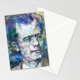 GUSTAV MAHLER - watercolor portrait.3 Stationery Cards