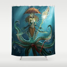 Deep Fear Shower Curtain