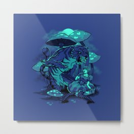 Cheschire Cat Metal Print