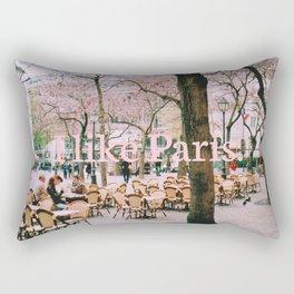 I like Paris. Rectangular Pillow