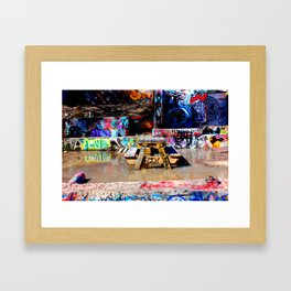 It's a Table in Water -6 Framed Art Print