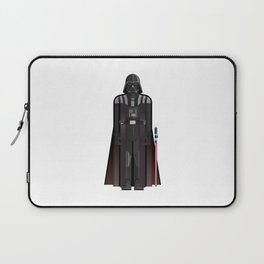 Fictional Sith Lord Character Minimal Sticker Laptop Sleeve