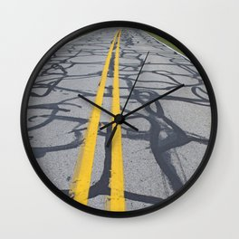 Making Do on a Tight Budget Wall Clock