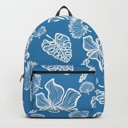 Blue Tropicana Backpack