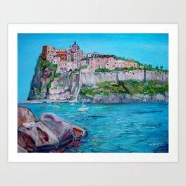 The Aragonese Castle Art Print