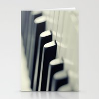 piano Stationery Cards featuring Piano by Falko Follert Art-FF77