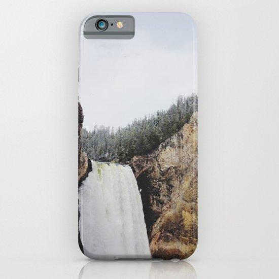 Lower Yellowstone Falls iPhone & iPod Case
