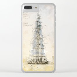 Burj Khalifa, Dubai Clear iPhone Case