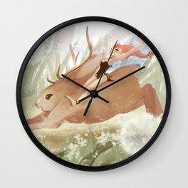 Frolicking Wall Clock