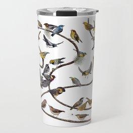 Warblers of New England Travel Mug