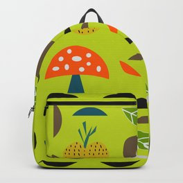 Modern decor with fruits and flowers Backpack