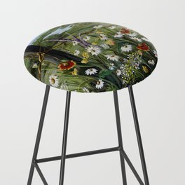 Wild Daisies Bar Stool