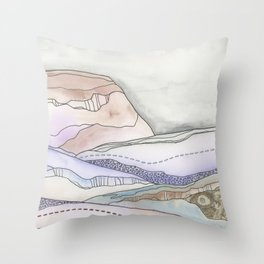 What's Really Going On Below Throw Pillow