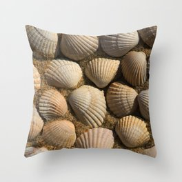The World of Shells Throw Pillow