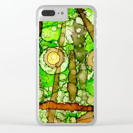 The Elements Collection - At[Astatine#85] Clear iPhone Case