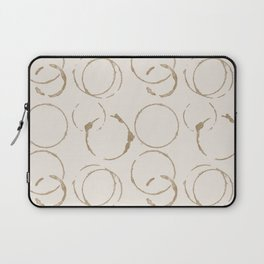 Coffee Stains Laptop Sleeve