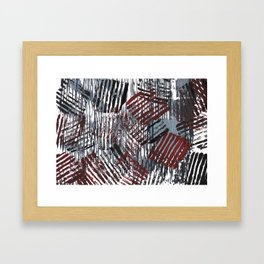 Cherry Gray Framed Art Print