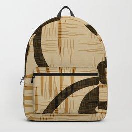 Yin Yang, Warp and Weft Dark Backpack