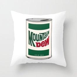 """""""Pop"""" Art, White Background Throw Pillow"""