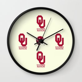 2013 #OU #Sooner football schedule. Wall Clock