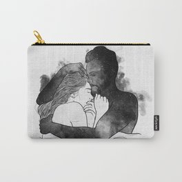 The hug. Carry-All Pouch