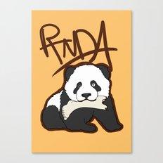 Panda Canvas Print