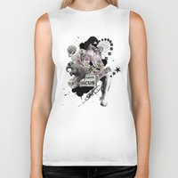 circus Biker Tanks featuring CIRCUS by TOO MANY GRAPHIX