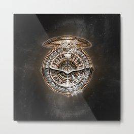 Alethiometer Metal Print