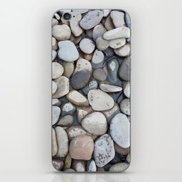 Small stones above the water iPhone Skin