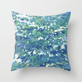 Clearwater II Juul Art Throw Pillow