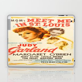 Vintage poster - Meet Me in St. Louis Laptop & iPad Skin