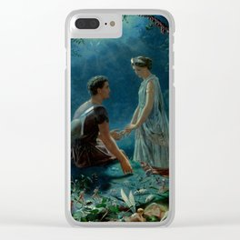 "John Simmons ""Hermia and Lysander. A Midsummer Night's Dream"" Clear iPhone Case"