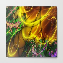 Yellow and more (A7 B0147) Metal Print