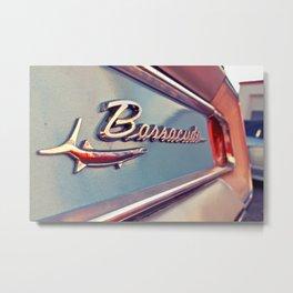 Barracuda emblem Metal Print