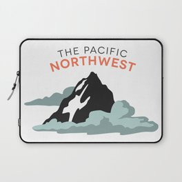 Mountains and Clouds: The Pacific Northwest Laptop Sleeve