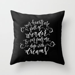 Wonder and Dreams Throw Pillow