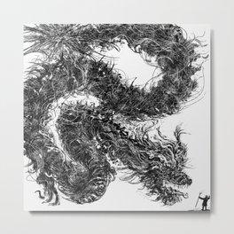 Dragon Tamer Metal Print