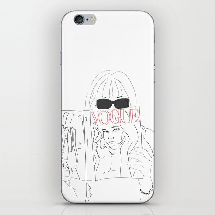 Anna Fashion Editor iPhone Skin
