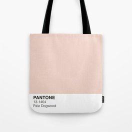 Pale Dogwood Pantone Tote Bag