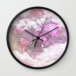 Map IV Wall Clock