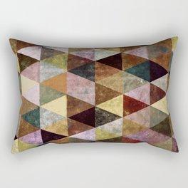 Abstract #399 Peat Bog Grunge Rectangular Pillow