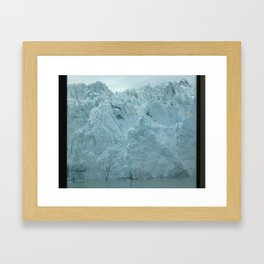 Glacier Beauty Up Close Framed Art Print