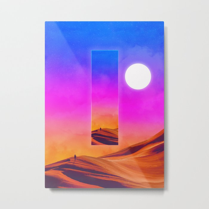 That which preceds everything Metal Print