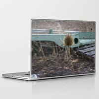 jeep Laptop & iPad Skins featuring Vintage Jeep by Stephanie Bosworth