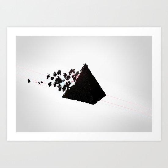 Magic Pyramid Art Print