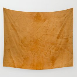 Tuscan Orange Stucco Wall Tapestry