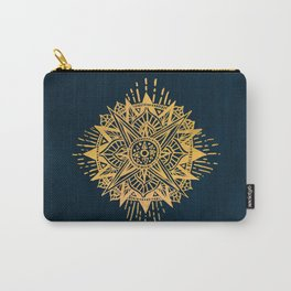 Bright lotus Carry-All Pouch