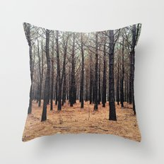 Forrest Throw Pillow