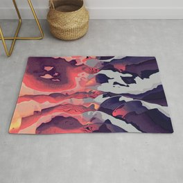 Battle of the Colors Rug