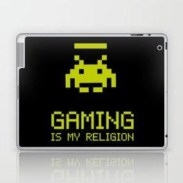 Gaming is my religion Laptop & iPad Skin